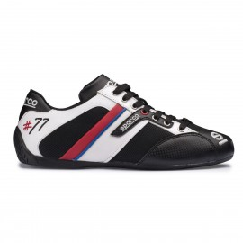 Zapatilla Sparco TIME 77 Negro-Blanco (12)