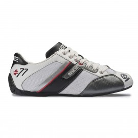 Zapatilla Sparco TIME 77 Blanco-Negro (12)