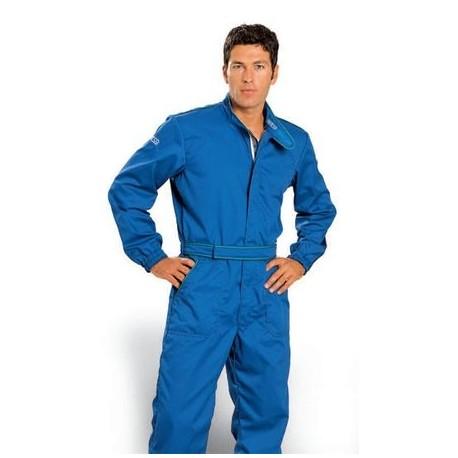 Traje para Mecánico PIT STOP Costuras Verdes (12A)