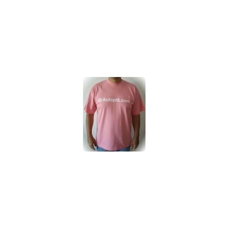 Camiseta Manga Corta color Rosa