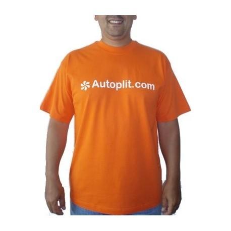 Camiseta Manga Corta color Naranja